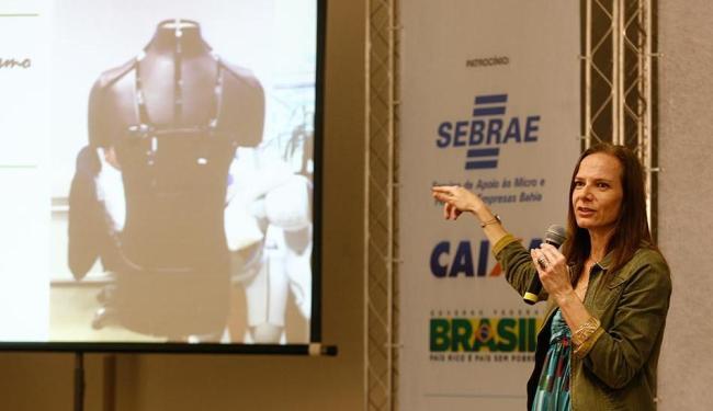 Ana Carla Fonseca falou para empresários baianos - Foto: Luciano da Matta | Ag. A TARDE