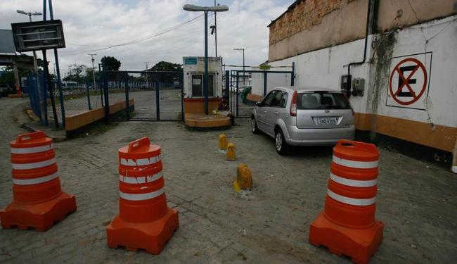 A Internacional Marítima não fixou data para que os veículos possam ocupar vagas no local - Foto: Raul Spinassé | Ag. A TARDE