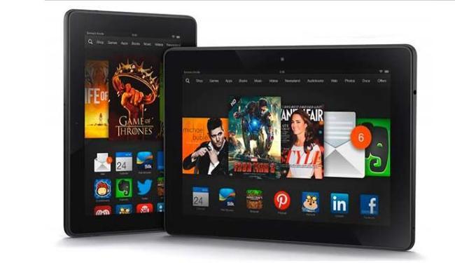 Kindle Fire HD de 7 polegadas estará disponível a partir de 2 de outubro - Foto: Divulgação