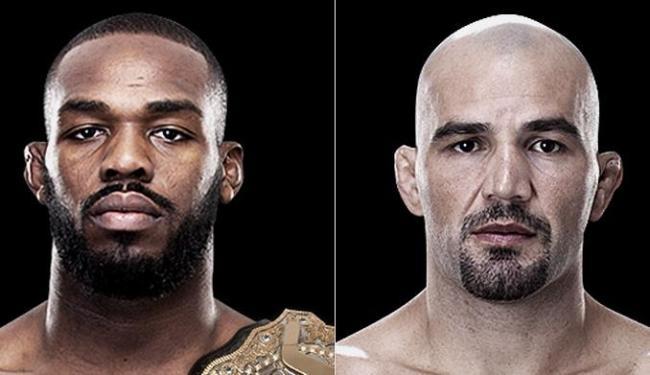 Após pedido do campeão (à esquerda), Dana White confirmou evento para fevereiro de 2014 - Foto: Reprodução l UFC