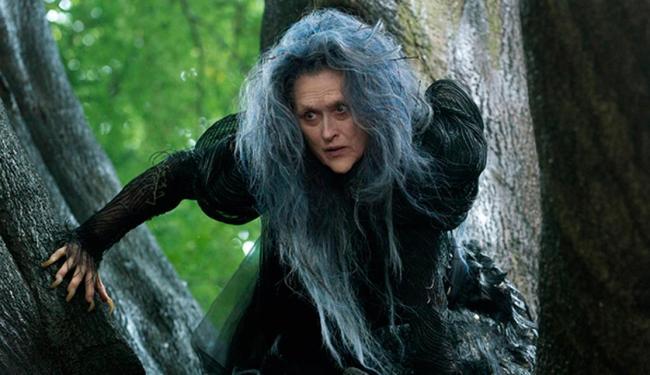 Meryl Streep como a bruxa má de Into The Woods - Foto: Divulgação