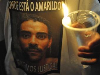 Amarildo desapareceu na favela em 14 de julho passado - Foto: Agência Brasil