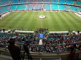 Alguns dos jogos da Copa do Mundo serão realizados na Arena Fonte Nova, em Salvador - Foto: Lúcio Távora | Agência A TARDE