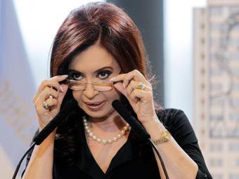 Apesar do repouso, Cristina manteve reuniões com assessores - Foto: EFE
