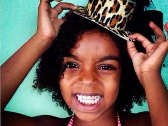 Franciele Santos, de 6 anos, é sobrinha da ex-vereadora de Salvador Léo Kret - Foto: Reprodução   Instagram