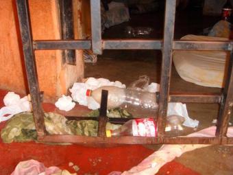 Presos usaram serra para abrir buraco na grade da cela - Foto: Divulgação | Polícia Civil