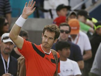 Murray se recupera de uma cirurgia nas costas - Foto: AP Photo