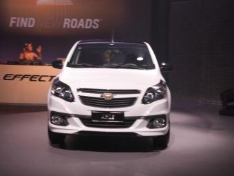 Chevrolet reestiliza Agile e oferece versão Effect - Foto: Roberto Nunes | Ag. A TARDE