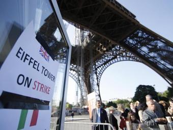 A Torre Eiffel é o monumento mais visitado do mundo - Foto: Agência Reuters
