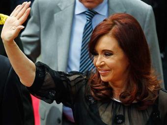 Cristina Kirchner recebeu alta neste domingo após a operação a que foi submetida - Foto: Agência Reuters
