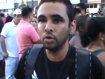 Motoboy afirma que foi fechado por médica na Paralela - Foto: Reprodução | Ag. A TARDE