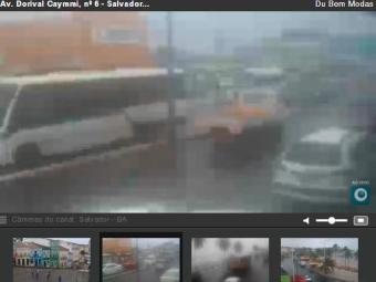 Veja ao vivo a situação do trânsito em Salvador - Foto: Reprodução