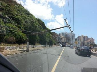Trânsito ficou lento na região durante a manhã - Foto: Reprodução   Márcio Ferreira   Facebook
