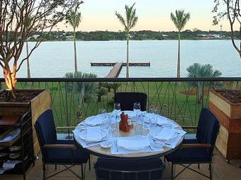 Parlamentares têm direito à bela vista do lago - Foto: Divulgação