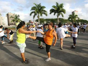 Só 28% dos entrevistados relacionaram atividades esportivas ao controle da doença - Foto: Joá Souza/ g. A Tarde