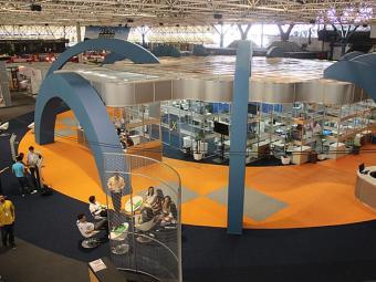 Espaço de Atendimento Empresarial na Feira do Empreendedor - Foto: Mateus Pereira | Divulgação Sebrae