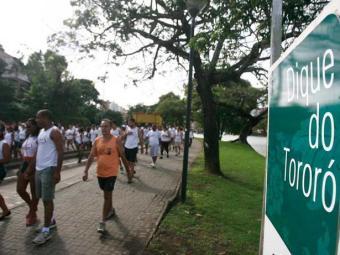 A atividade faz parte da programação do Outubro Rosa - Foto: Raul Spinassé   Ag. A TARDE
