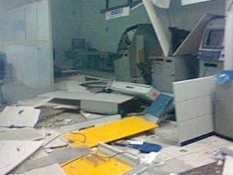 Explosão destruiu agências em Candeal - Foto: Reprodução   André Luiz   AL Notícias