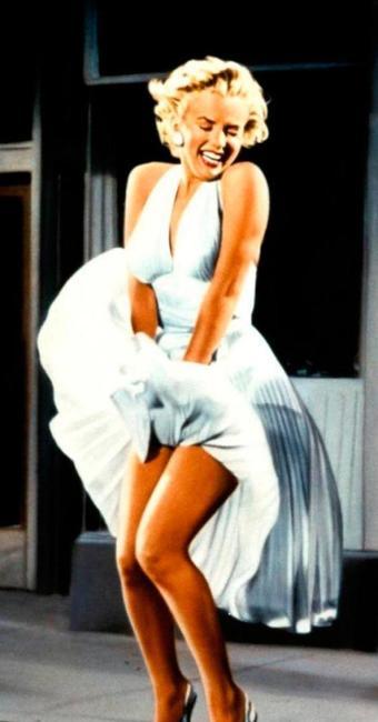 Marilyn Monroe, em cena do filme O Pecado Mora ao Lado - Foto: Divulgação