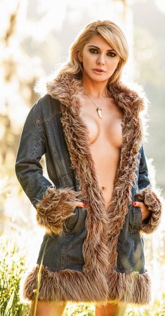 A atriz vai recorrer da decisão da Justiça, segundo Carlos Sanseverino - Foto: Divulgação | Playboy