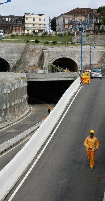 Túneis atravessam região localizada na Soledade - Foto: Marco Aurélio Martins | Ag. A TARDE