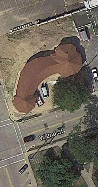 Igreja americana parece órgão genital masculino de cima - Foto: Reprodução
