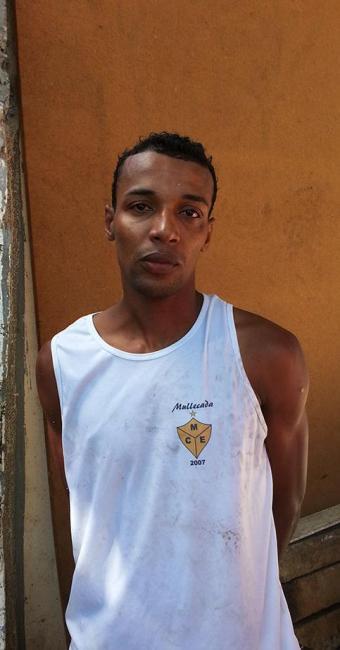 Gerson Gomes dos Santos foi reconhecido por vítima - Foto: Ascom | Polícia Civil