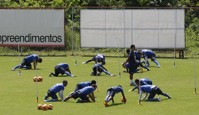 Clube tem medido cansaço dos jogadores para tentar impedir lesões na maratona de jogos - Foto: Marco Aurélio Martins | Ag. A Tarde