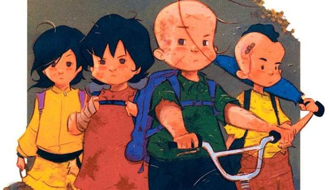 Personagens clássicos da turma ganham novos traços na graphic novel - Foto: Divulgação