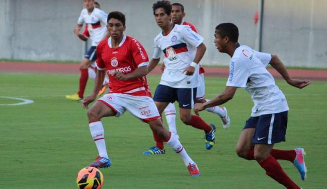 O Bahia eliminou o América-RN pela primeira fase do torneio - Foto: Site Oficial E.C.Bahia   Ag. A TARDE