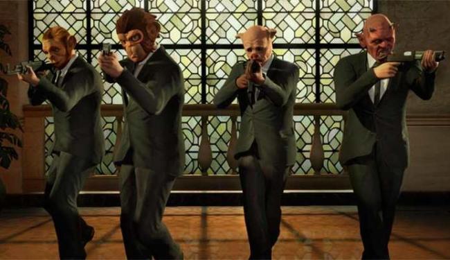 Jogadores vão poder formar gangues e assaltar bancos com amigos no modo online - Foto: Divulgação