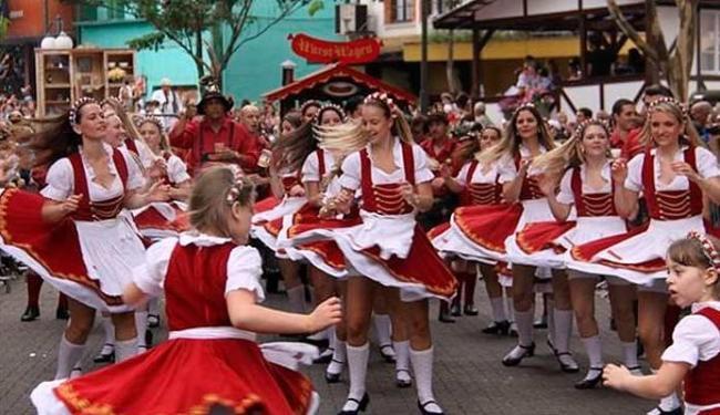 Oktoberfest é uma das mais tradicionais do Estado e completa 30 anos em 2013 - Foto: Divulgação