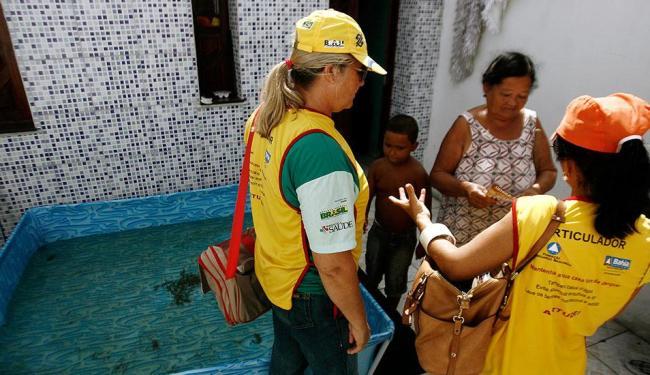 Mutirão visitou seis distritos sanitários de Salvador - Foto: Luiz Tito   Ag. A TARDE
