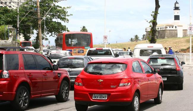 Confira o trânsito nesta quinta em Salvador - Foto: Fernando Amorim | Ag. A TARDE