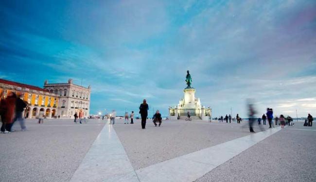 Terreiro do Paço é um dos pontos turísticos de Lisboa - Foto: Divulgação