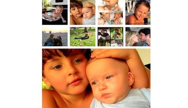 Claudia Leitte fez uma colagem com diversos momentos familiares - Foto: Reprodução | Instagram