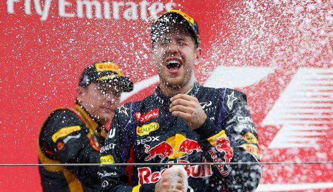 Vettel pode levar a taça já no próximo fim de semana, no Japão - Foto: Agência Reuters