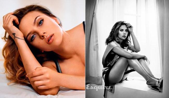 Scarlett é a primeira mulher e ser eleita mais sexy duas vezes pela revista - Foto: Reprodução | Esquire