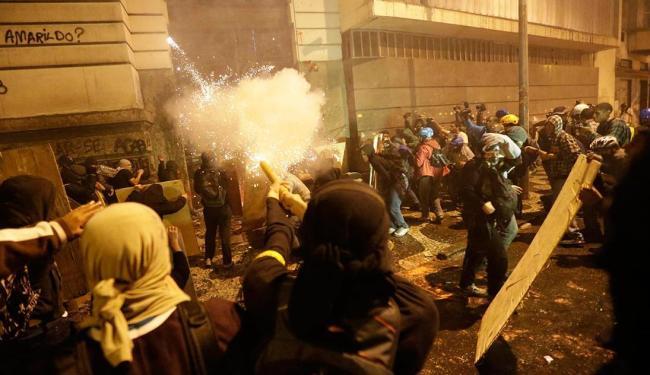 Assembleia Legislativa do Rio de Janeiro foi alvo de protestos violentos - Foto: Agência Reuters