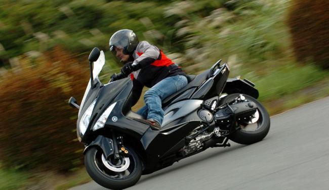 Yamaha TMAX 500 - Foto: Divulgação