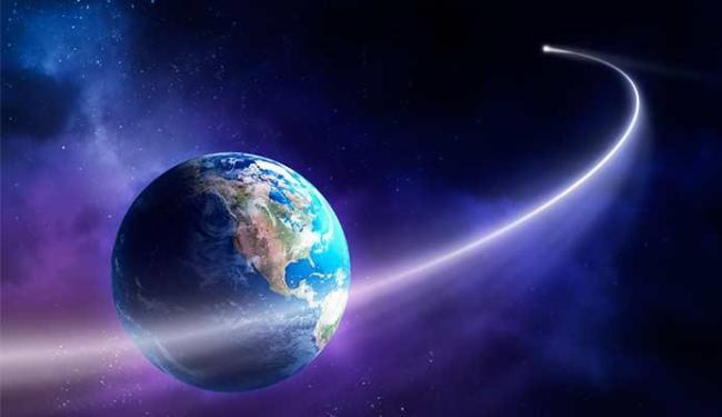Cometa entrou na atmosfera há 28 milhões de anos, - Foto: Terra