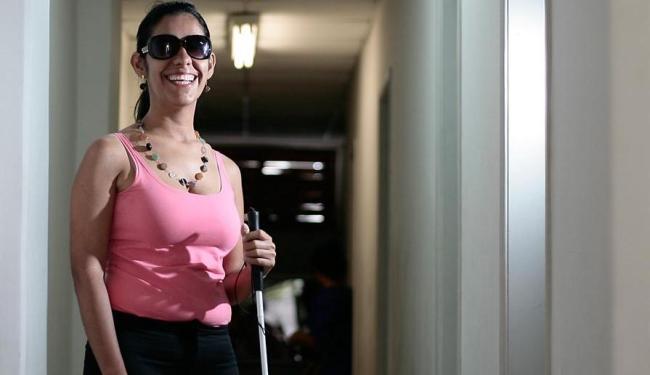 Luzia de Almeida é do Núcleo de Apoio ao Estudante com Necessidades Educacionais e Especiais (Nape) - Foto: Raul Spinassé | Ag. A TARDE