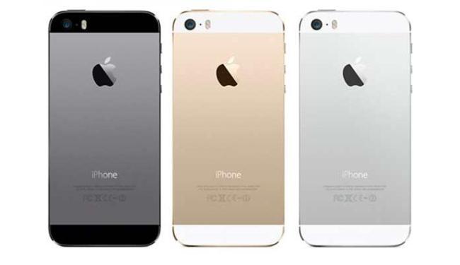 iPhone 5S chega nas cores preta, dourada e prateada - Foto: Divulgação