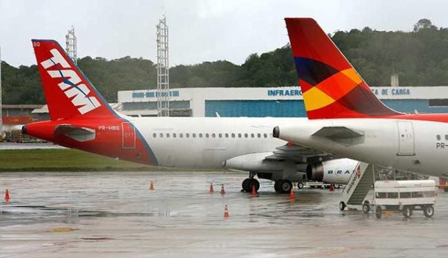 Barulho das turbinas dos aviões são prejudiciais à saúde - Foto: Marco Aurélio Martins | Ag. A TARDE