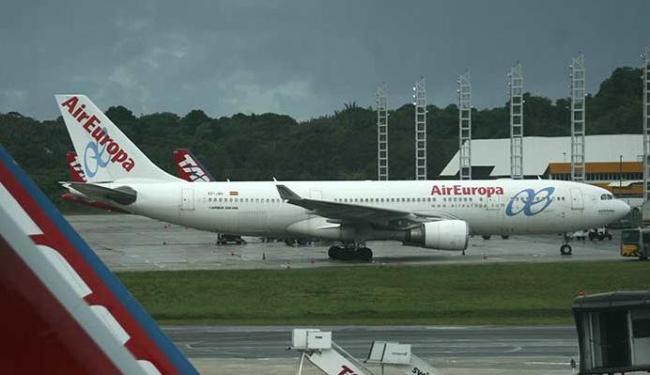 Novos voos internacionais serão operados pela Air Europa - Foto: Raul Spinassé   Ag. A TARDE