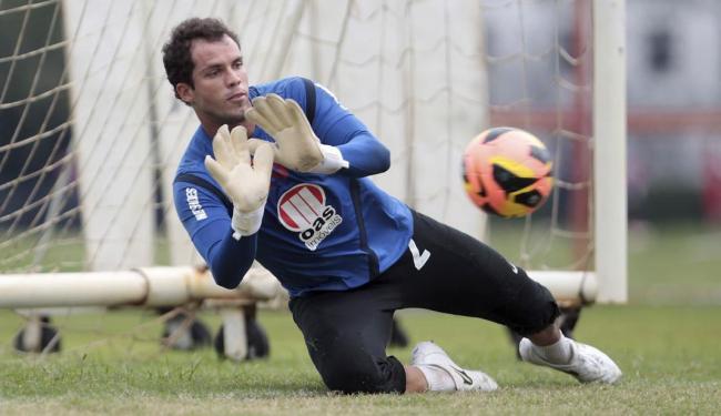 Jogador do Bahia que mais atuou no campeonato, Lomba está suspenso e não encara o Esmeraldino - Foto: Eduardo Martins   Ag. A TARDE