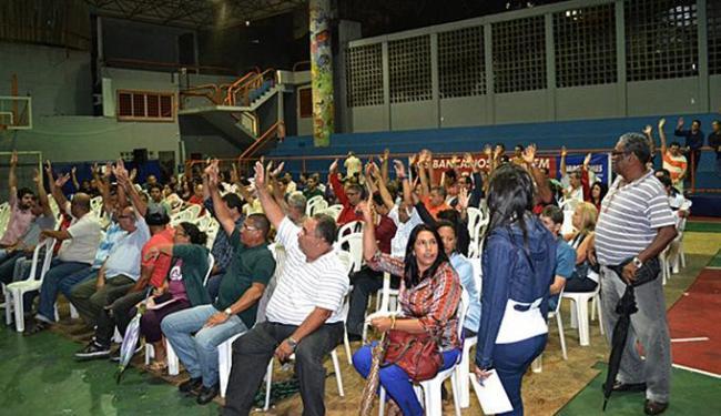 Assembleia está marcada para às 18h30 desta sexta, no Ginásio de Esportes, no bairro dos Aflitos - Foto: João Ubaldo   Sindicato dos Bancários