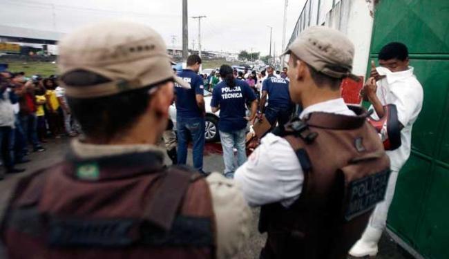 Bandidos levaram R$ 1,5 mil do comerciante - Foto: Luiz Tito | Ag. A TARDE