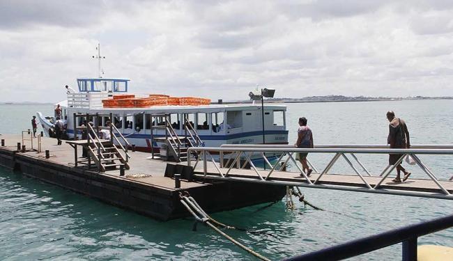 Travessia Salvador-Mar Grande volta a funcionar depois de dois dias parada - Foto: Joá Souza | Ag. A TARDE