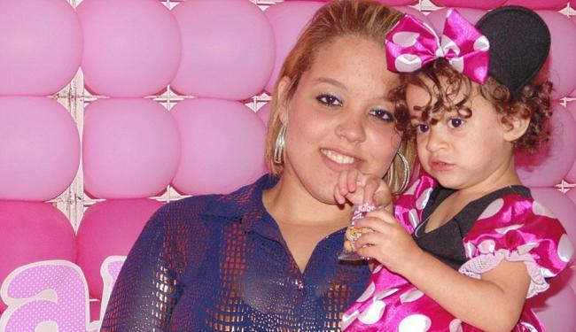 Victoria Alda engravidou de Lara aos 12 anos - Foto: Arquivo pessoal
